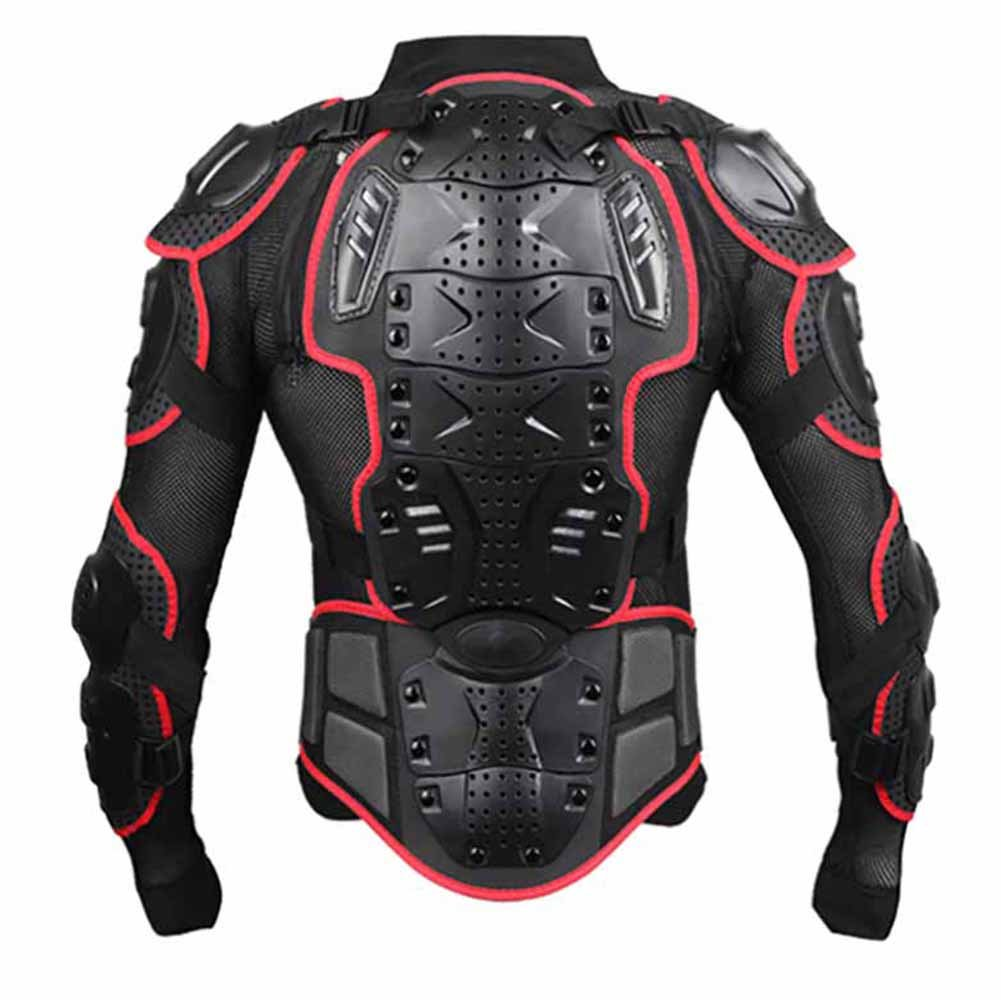 Wishwin Professional Motorcycle Armor Jacket Full Body Protective Gear Shoulder Spine Chest Cool Automotive ATV Dirt Bike Racing by  (Image #1)