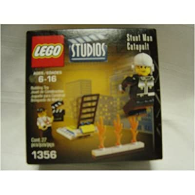 LEGO Stunt Man Catapult (1356): Toys & Games