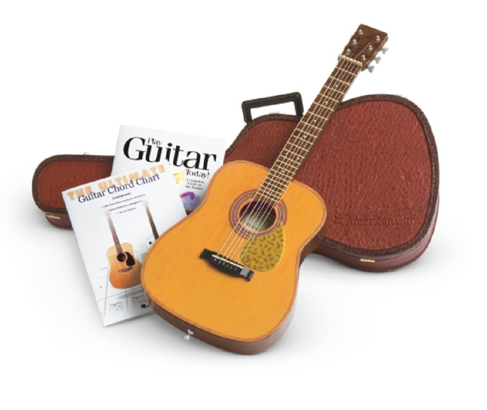 Amazon American Girl Doll Guitar With Case And Books Set Truly