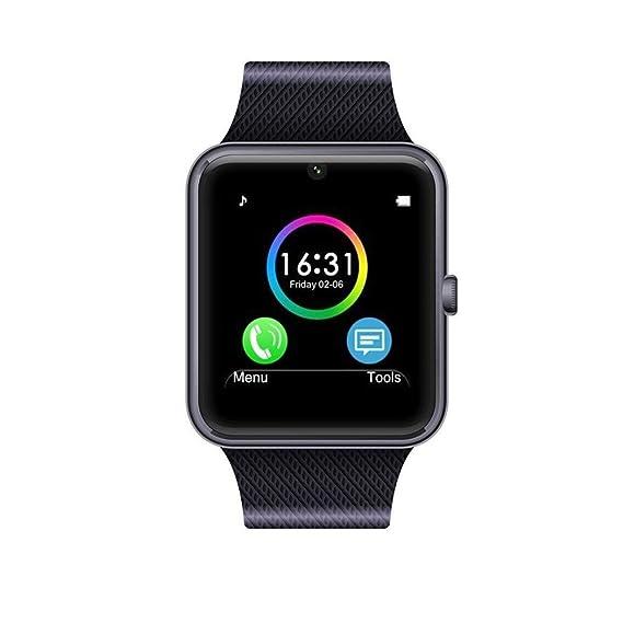 RaaawarHWWE Smart Watch Phone Phone Syc Support, Black