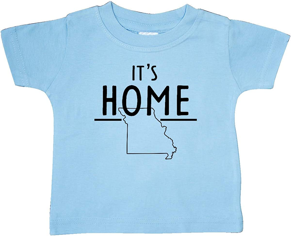 inktastic Its Home State of Missouri Outline Baby T-Shirt