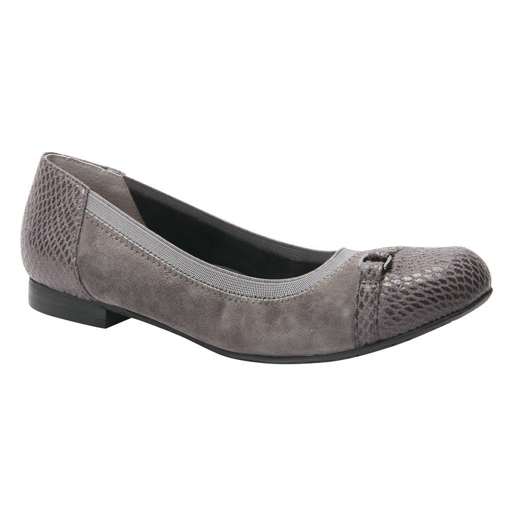 Ros Hommerson Women's Rosita Cap Toe Flat B01H4DEM40 7.5 C/D US|Grey Combo