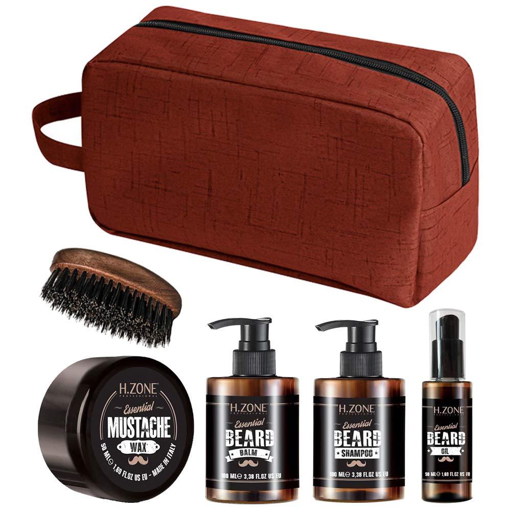 Kit Beard and Moustache - H-Zone Essential Beard - Renèe Blanche