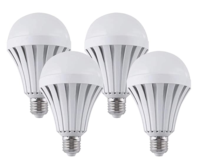 CTKcom LED Light Bulbs 7W (4 Pack)- Emergency Lamps Household Lighting Bulbs Human Body Induction,Saving Energy Intelligent Light Rechargable ...