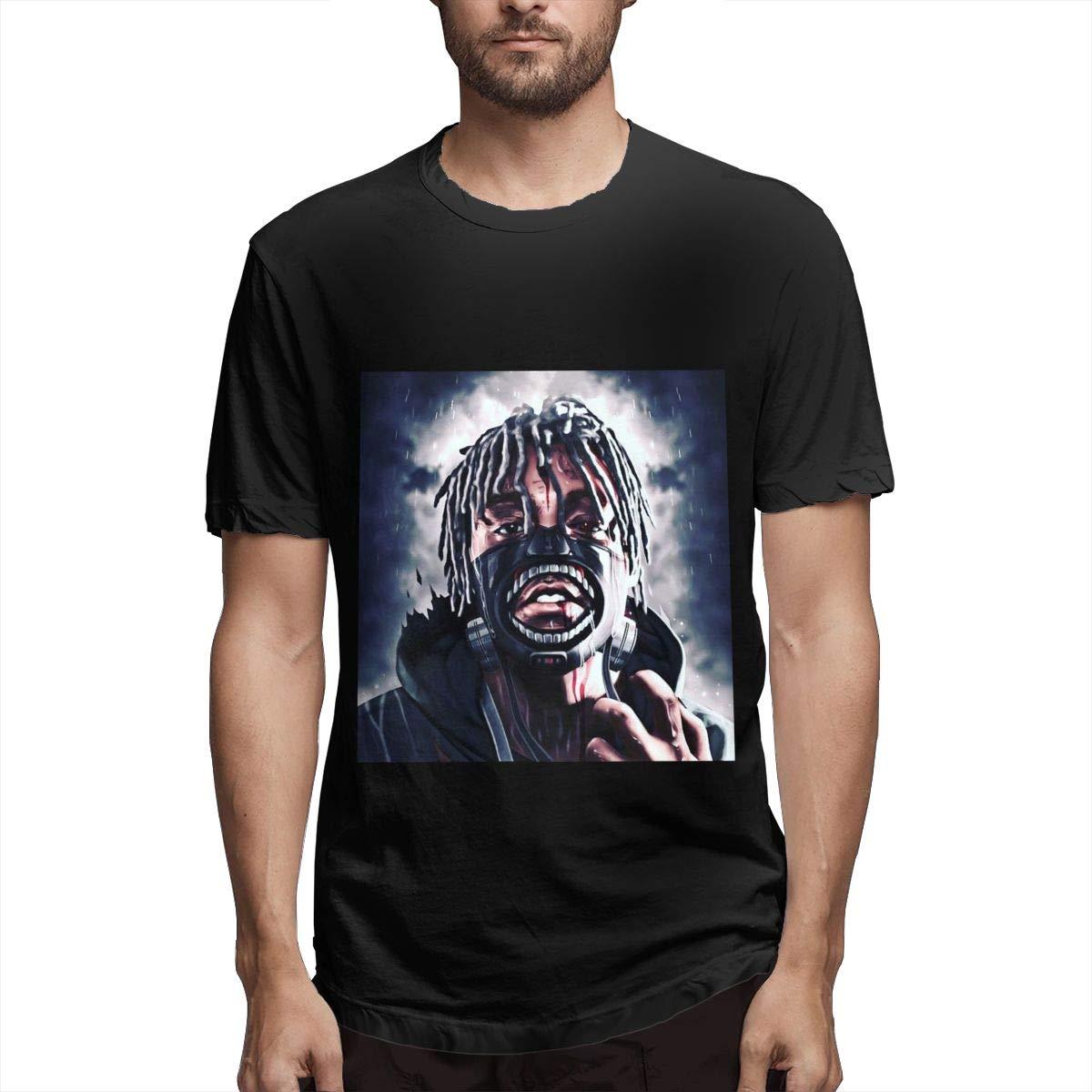 Lihehen S Juice Wrld Retro Printing Round Neck Ts Shirts