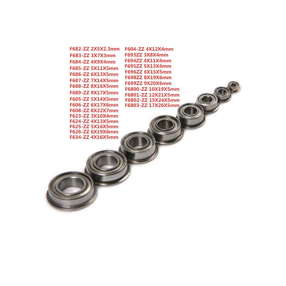 20 St/ück DIN912 Stahl mit schwarzem m3 m5 Linksgewinde Innensechskantschrauben M5,16mm m4