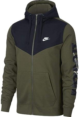 Nike Full Zip HBR + Chaqueta con Capucha, Hombre: Amazon.es: Deportes y aire libre