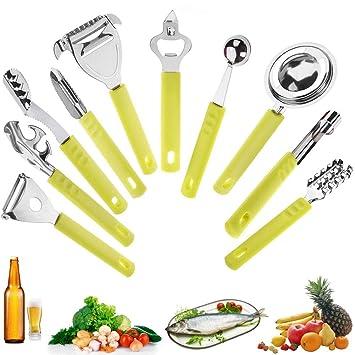 Amazon Com Needoon 10pcs Peelers Set Basic Kitchen Tools