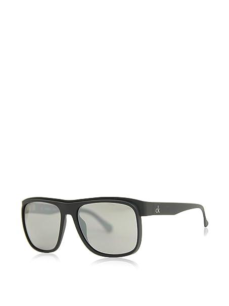 Calvin Klein Gafas de Sol 3167S-001 (55 mm) Negro: Amazon.es ...