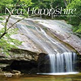New Hampshire, Wild & Scenic 2019 7 x 7 Inch Monthly Mini Wall Calendar, USA United States of America Northeast State Nature