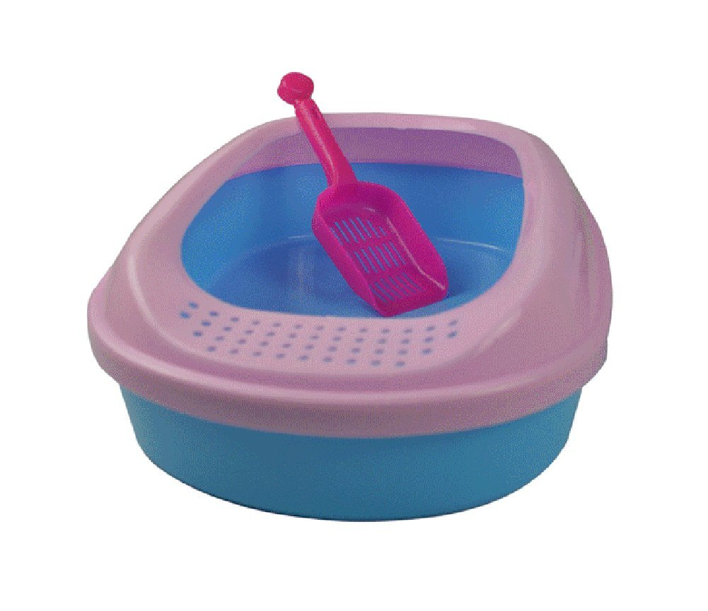 Uniquorn The High Side Prevents Cat Ssand From Throwing Pet Cat Sand Basin Send Shovels