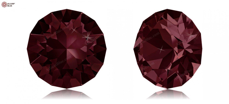 SS24 (5.27  5.44 mm) Swarovski Crystals 1170640 Round Stones 1088 SS 34 BURGUNDY F, 144 Pieces