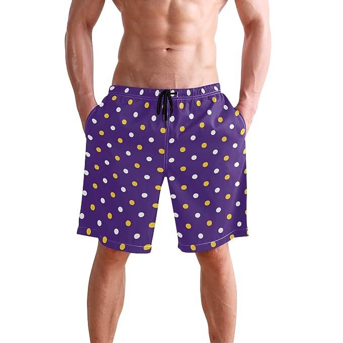 Amazon.com: LSU Pantalones cortos de verano para hombre ...