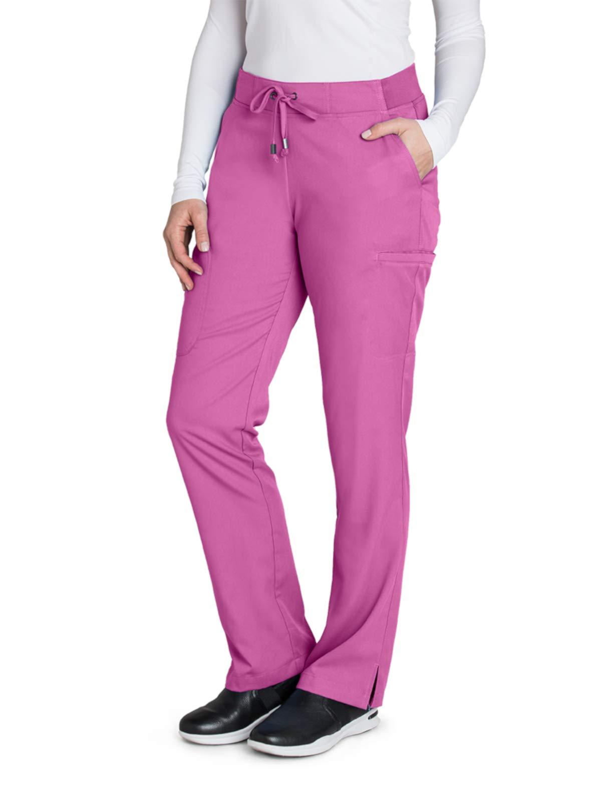 Grey's Anatomy 4277 Straight Leg Pant Bloom M