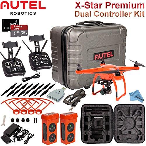Autel Robotics X-Star Premium Quadcopter with Dual Controller Advanced Kit (Orange) by Autel Robotics