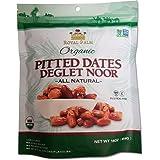 Royal Palm Organic Deglet Noor Dates Pitted (16 oz), All Natural, Certified Vegan, Gluten Free, NON-GMO Verified, Kosher