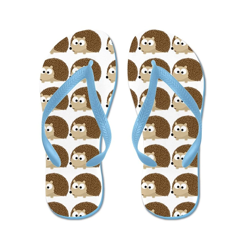 38fb88bde Lplpol Cute Hedgehog Pattern Flip Flops for Kids and Adult Unisex ...