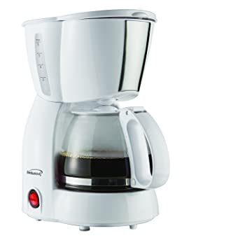 Brentwood TS-213W 4-Cup Coffee Maker
