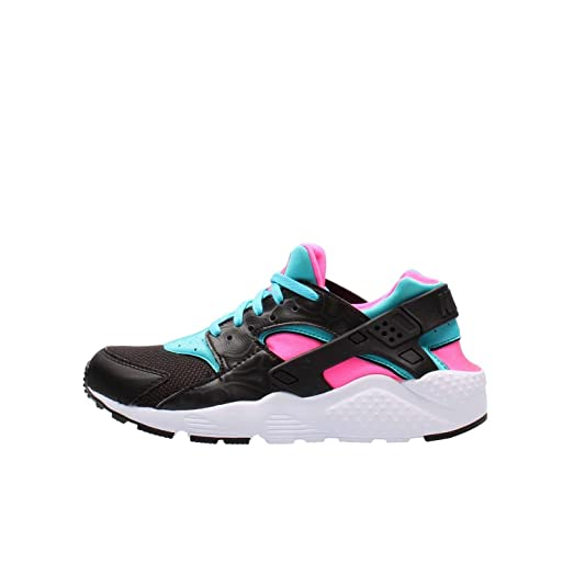 sports shoes 05a19 96f46 Nike HUARACHE RUN (GS) girls running,shoes 654280,005 5Y , BLACK  ...