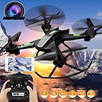 Hanbaili Upgraded S5 Drone with 2MP HD Camera,6-axis Gyro Stable Flying and be Easy to Control,360 Degree Rollover,One Key Automatic Return Drone for Teens