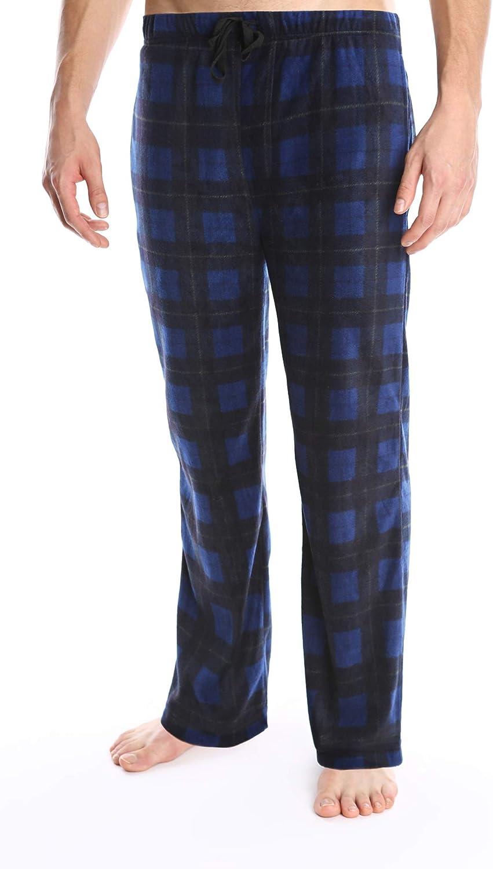 SLEEPHERO Adult Men's Fleece Fuzzy Drawstring PJ Lounge Pajama Pant