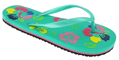 641ffb4e8bf4 Capelli New York Opaque Jelly Flip Flop With Flowers Printed Mint 6