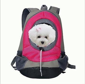 toplikes Mochila para Mascota, Perro, Gato, Cachorro, Portátil, con Malla Transpirable