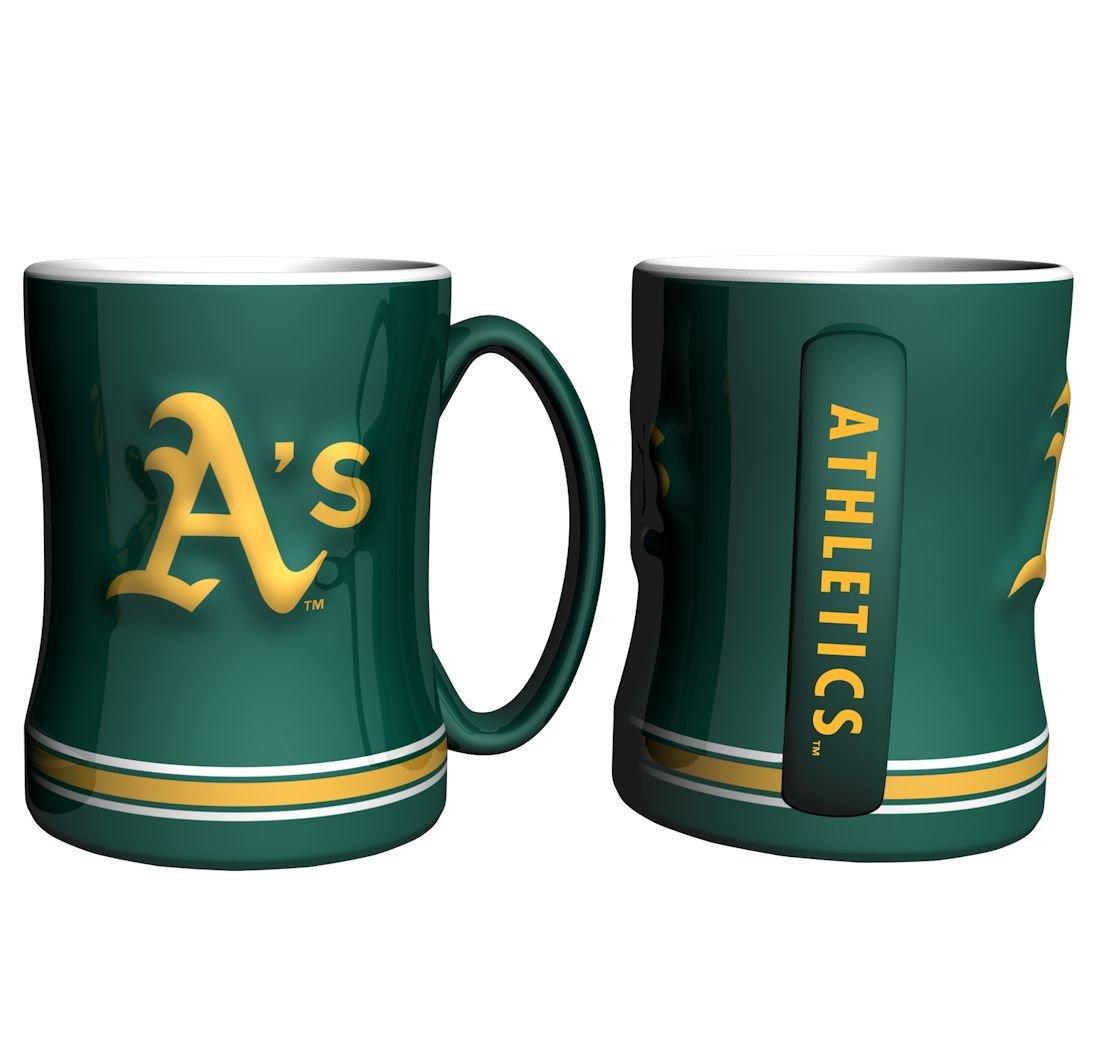 Oakland Athletics Boelter Boxed Relief Sculpted Mug