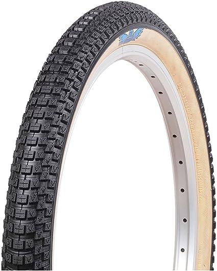 "2 x PAIR Kenda Freestyle BMX Tyres 20/"" x 1.75/"" Blue w Tan Skin Wall Bike Tires"