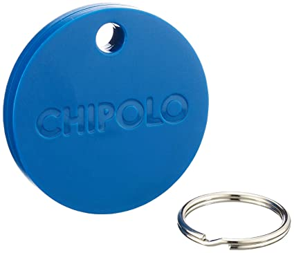 Chipolo Plus Smart Keyring Bluetooth Tracker Blue
