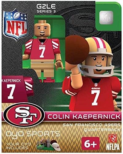 NFL San Francisco 49ers Colin Kaepernick Gen 2 Mini Figure, Petit