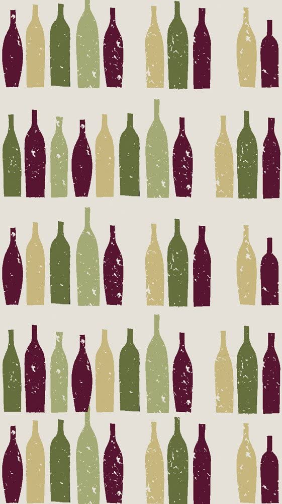 Cypress Home Wine Bottle Paper Guest Towel, 15 count