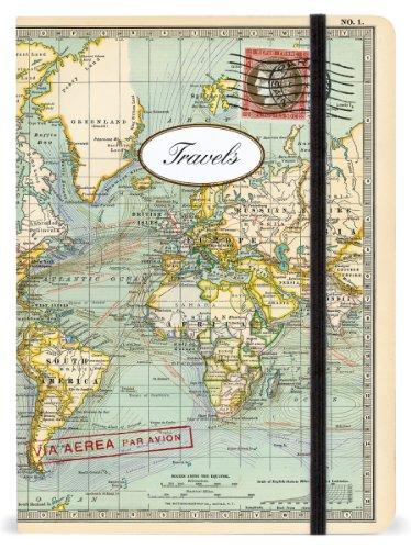 Cavallini Notebooks World Travels 6 x 8