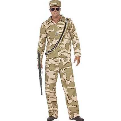 Amakando Ropa Fuerzas Armadas Disfraz Soldado ejército ...