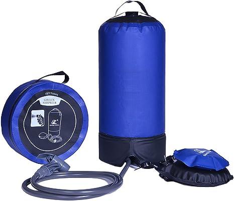 Ducha Solar Bolsa De Ducha Camping Ducha Portatil Camping Presion para Senderismo Escalada 8L //15L
