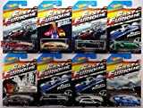 2015 Hot Wheels Fast & Furious - 69 Dodge Charger Daytona, 94 Toyota Supra, 70 Dodge Charger R/T, 72 Ford Grand Torino Sport, Nissan 350Z, Buick Grand National, Subaru WRX STI, Ford GT-40 - Complete Set of 8!! by Mattel