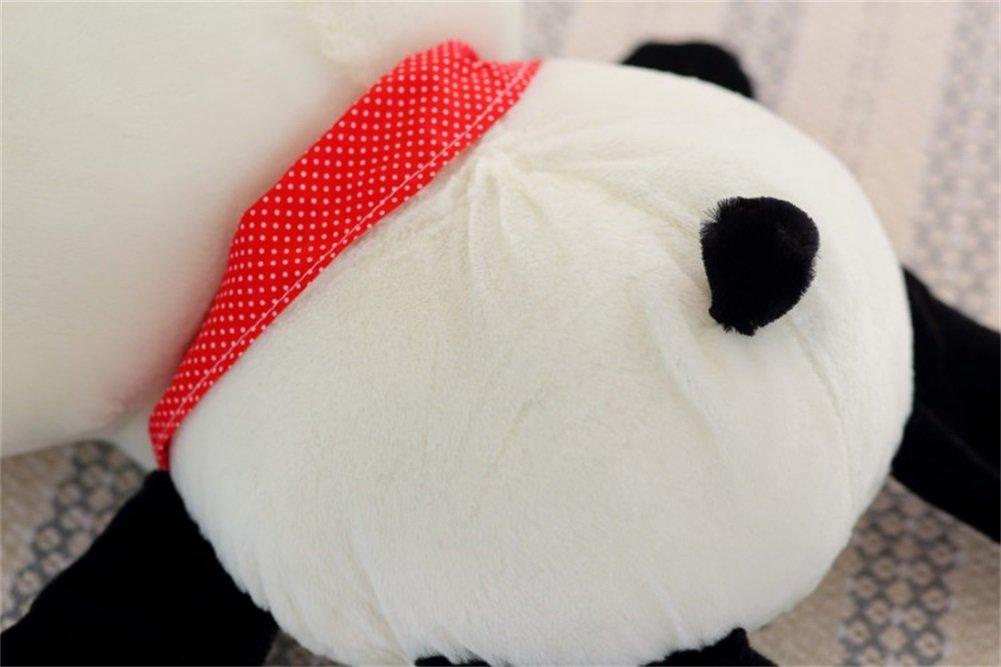 YunNasi 25cm Kreative Netter Pl/üschtier Panda Puppe Kissen Geburtstagsgeschenk Weihnachtsgeschenke