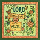 The Lord Remembers Us And Will Bless Us 20 Count 3-Ply Paper Luncheon Napkins Pack of 2