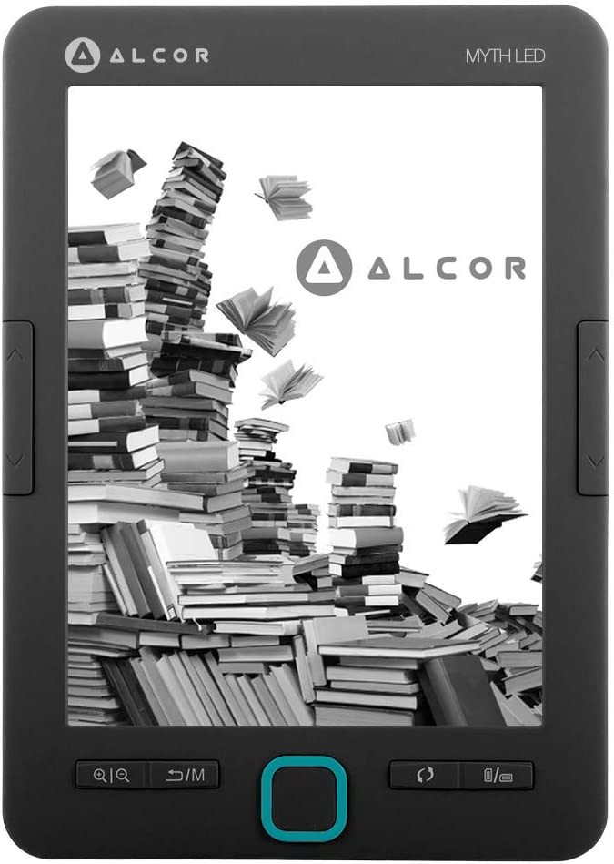 Alcor 5999561504155 Myth LED Lector de eBook Negro One Size ...