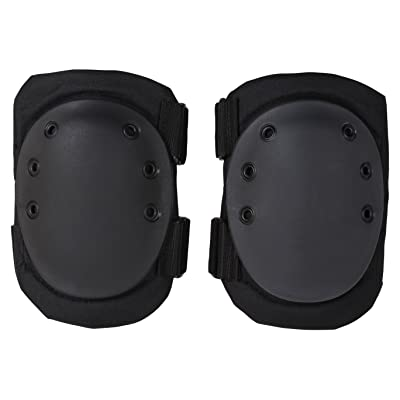 Rothco Tactical Protective Gear Knee Pads, Black: Sports & Outdoors