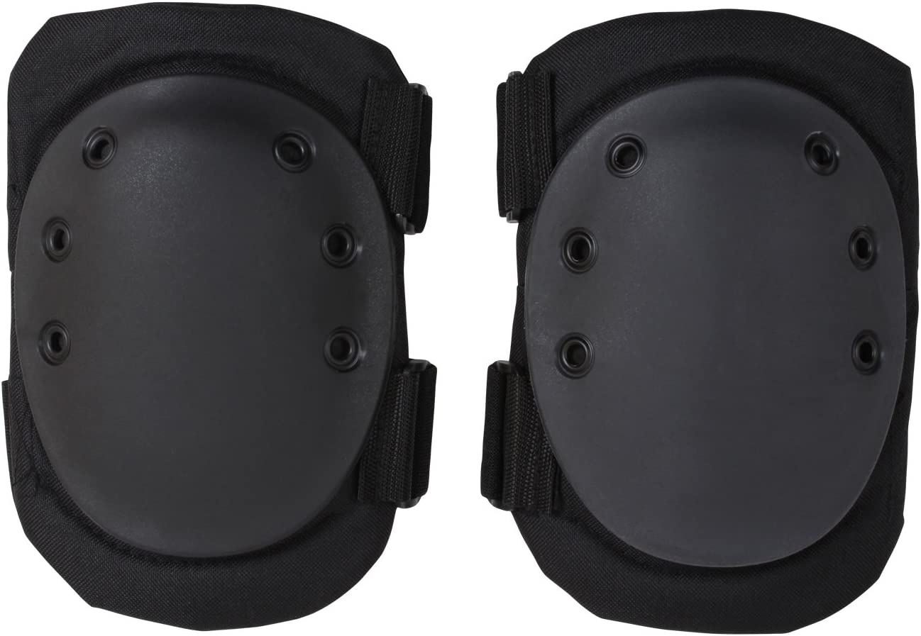 Black Military /& Swat Tactical Protective Gear Knee Pads 11058 Rothco