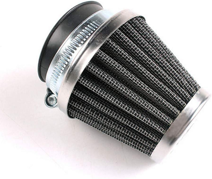 Noir Flyes Filtre /à air universel pour moto 42 mm