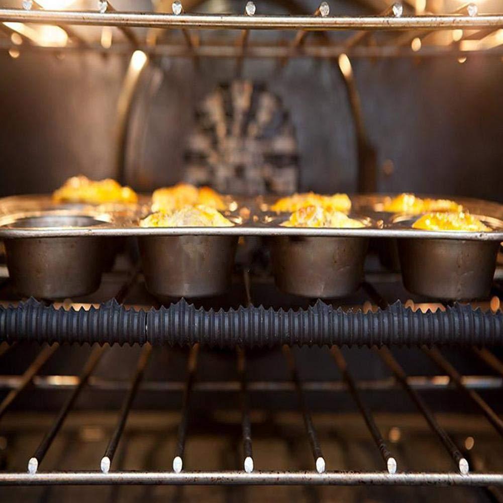 Agarre Olla Protector de Dedos para Cocina Cocina pellizco Plato y taz/ón SH-Flying Guantes de Silicona horneado Soporte para ollas Plato Caliente Resistente al Calor