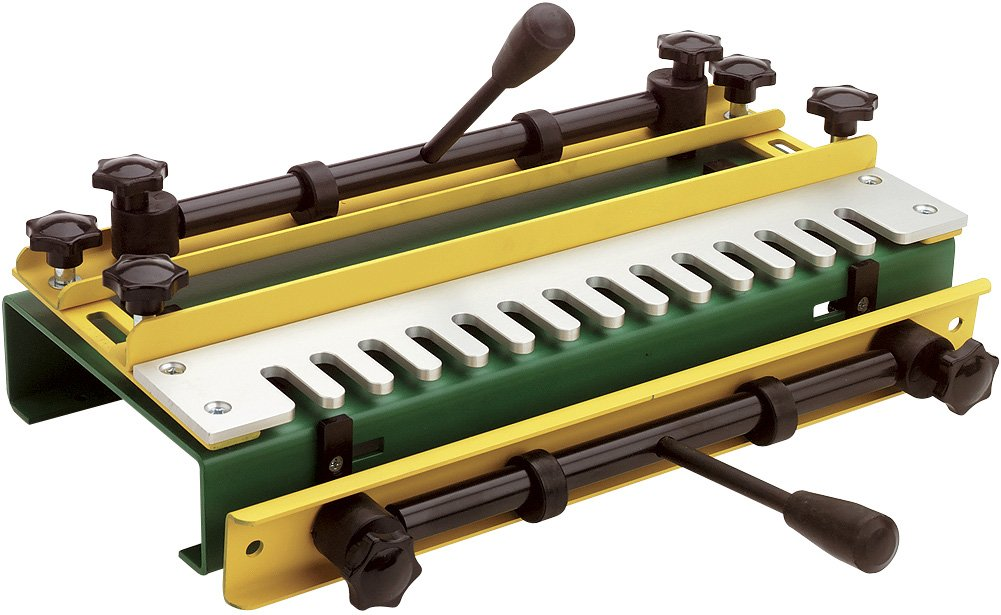 Woodtek 122471, Portable Power Tool Accessories, Dovetail Jigs, 12'' Dovetail Jig