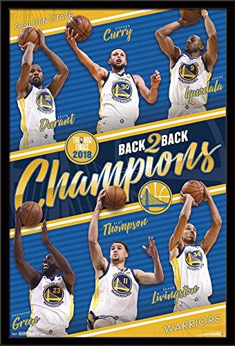 Wall Framed Cavaliers (Trends International 2018 NBA Finals-Golden State Warriors Champions Wall Poster, 24.25