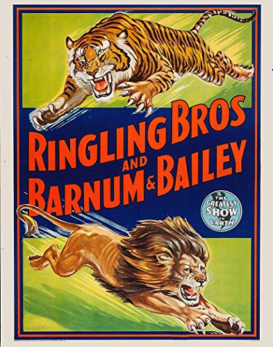 Old Circus Posters - 2