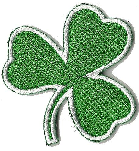 "Die Cut Irish Clover Tactical Patch 2""x2"" - Green"
