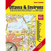 Ottawa and Area Deluxe Map Book by MapArt (2006-12-31)
