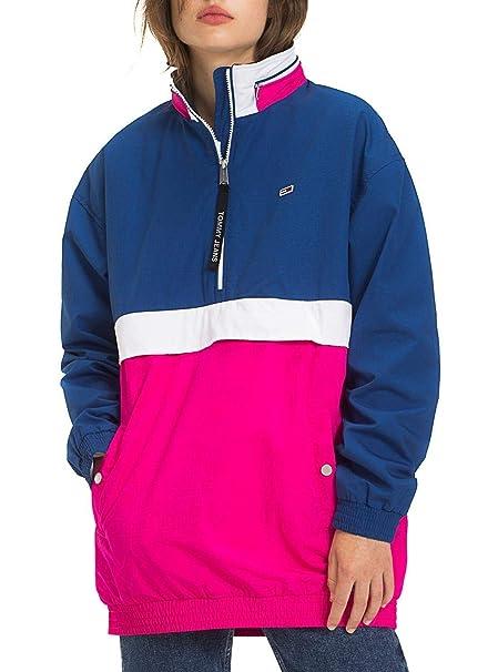the best attitude 02476 1635e Tommy Hilfiger Giubbino Color Block DW0DW06009904: Amazon.it ...