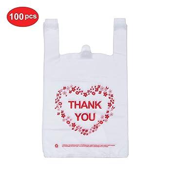 Amazon.com: LazyMe - Bolsas de plástico resistentes para ...